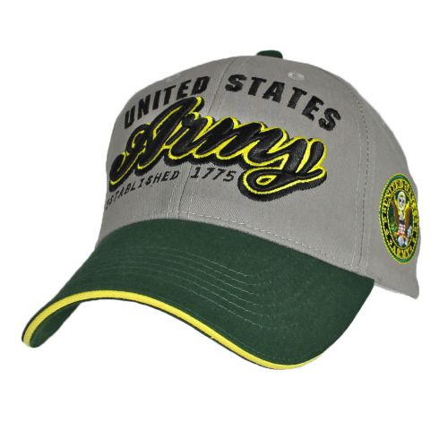 Картинка бейсболки Армии США United States Army Two Tone Green-Grey with 