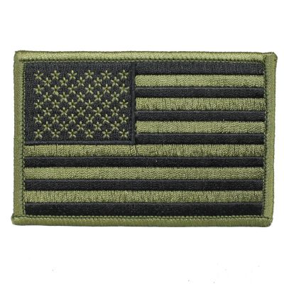 Фото нашивки American Flag Olive Drab GREEN Patch (3.5