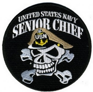 Фото нашивки United States Navy Senior Chief (4