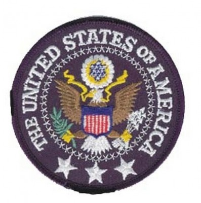Фото НАШИВКИ THE UNITED STATES OF AMERICA PATCH 3.5