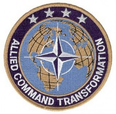 ФОТО НАШИВКИ ALLIED COMMAND TRANSFORMATION PATCH (4