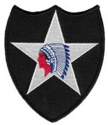 ФОТО НАШИВКИ 2ND INFANTRY DIVISION SHOULDER PATCH (4