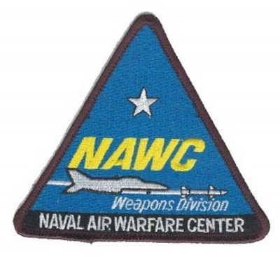 КАРТИНКА НАШИВКИ NAWC WEAPONS DIVISION
