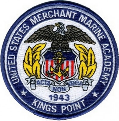 Картинка нашивки US Merchant Marine Academy Patch 4