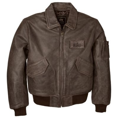 Фото куртки CWU-45/P Leather Flight Jacket