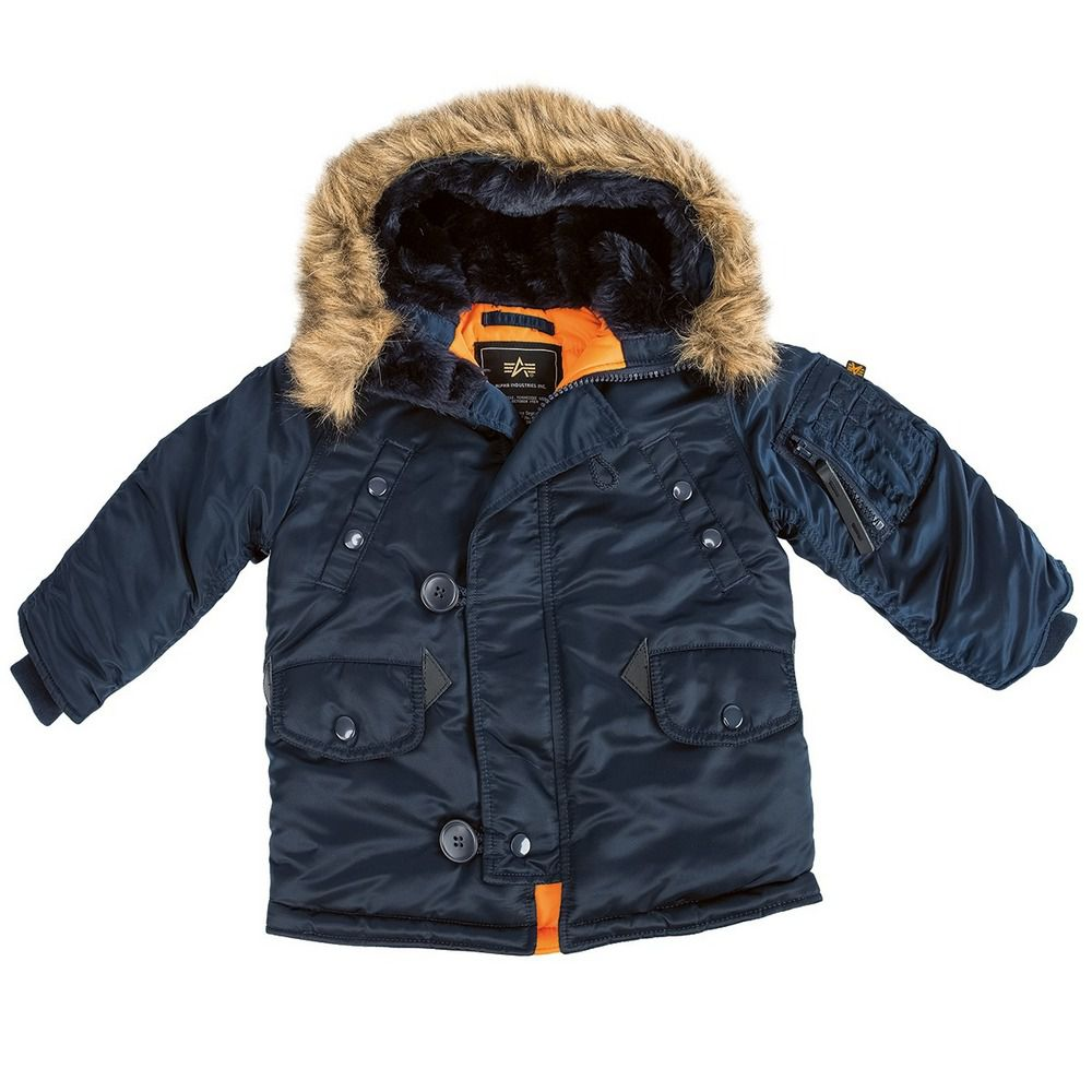 909613f970d Купить детскую куртку Аляска Alpha Industries Youth N-3B Parka в ...