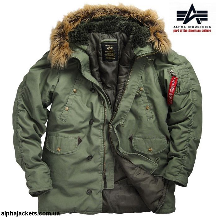 f54e7367 Куртка Аляска Slim Fit Cotton N-3B Parka - Куртки - Интернет магазин одежды  Alpha Industries