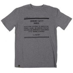 Футболка Alpha Industries Safety Manual T-shirt