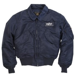 Фото куртки CWU 45/P Flight Jaket, цвет синий