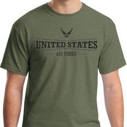 Футболка ВВС США United States Air Force With Logo on Top Tee