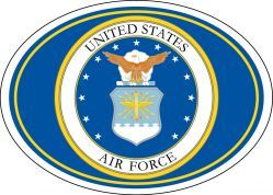 Магнит на холодильник United States Air Force Seal Magnet
