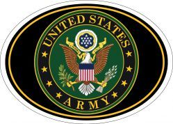 Магнит на холодильник United States Army Seal