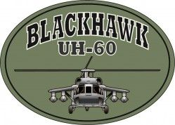 Магнит на холодильник BLACKHAWK UH-60 WITH HELICOPTOR
