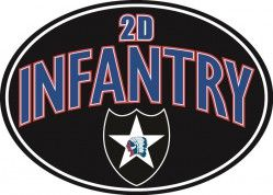Магнит на холодильник MAGNET- 2D INFANTRY WITH LOGO