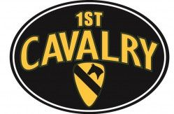 Магнит на холодильник 1ST CAVALRY WITH LOGO MAGNET