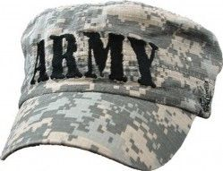 Кепка Армии США Army Flat Top ACU Washed Cap