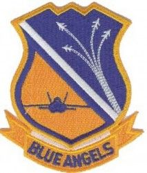 "Нашивка BLUE ANGELS (4"")"