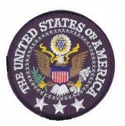 НАШИВКА THE UNITED STATES OF AMERICA PATCH 3.5""