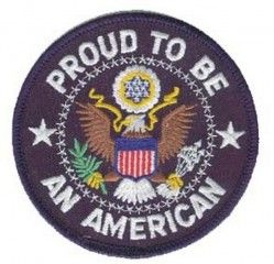 "НАШИВКА PROUD TO BE AN AMERICAN PATCH (3.5"")"