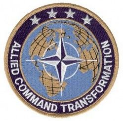 "НАШИВКА ALLIED COMMAND TRANSFORMATION PATCH (4"")"