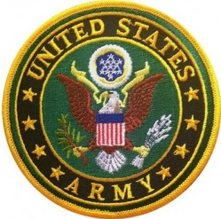 "НАШИВКА UNITED STATES ARMY PATCH (3"")"