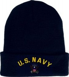 Шапка U.S. Navy With Logo Watch Cap
