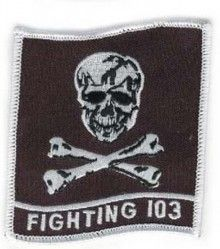 "НАШИВКА FIGHTING 103 PATCH (4 1/2"")"