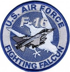 "НАШИВКА U.S. AIR FORCE FIGHTING FALCON PATCH (4"")"