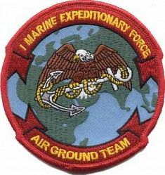 НАШИВКА MARINE EXPEDITIONARY FORCE