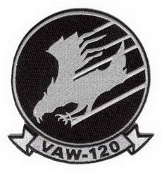 НАШИВКА VAW-120 PATCH 4""