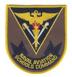 НАШИВКА NAVAL AVIATION SCHOOLS COMMAND PATCH 4""