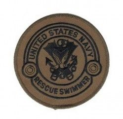 "Нашивка Rescue Swimmer Patch 4"" - OD Green"