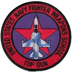 НАШИВКА NAVY FIGHTER WEAPONS SCHOOL TOP GUN