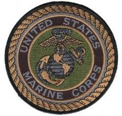 НАШИВКА UNITED STATES MARINE SUBDUED PATCH 4""