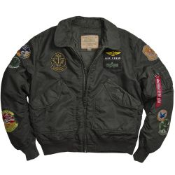 Куртка летная Alpha Industries CWU Pilot Jacket